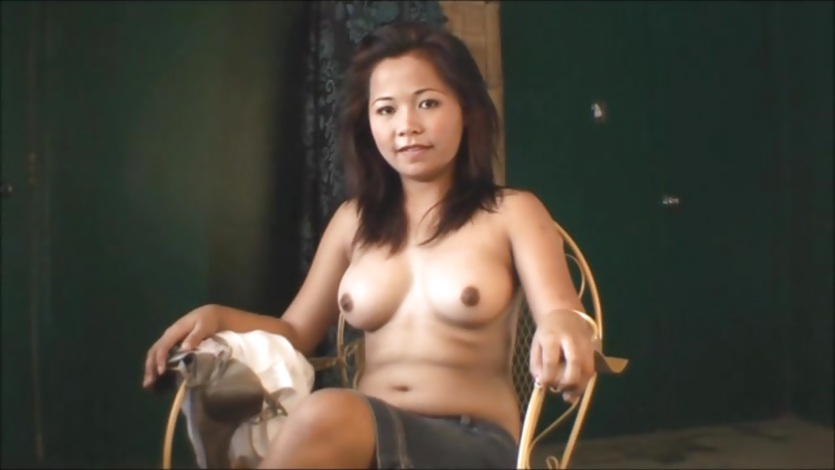 Close up of Asian masturbation