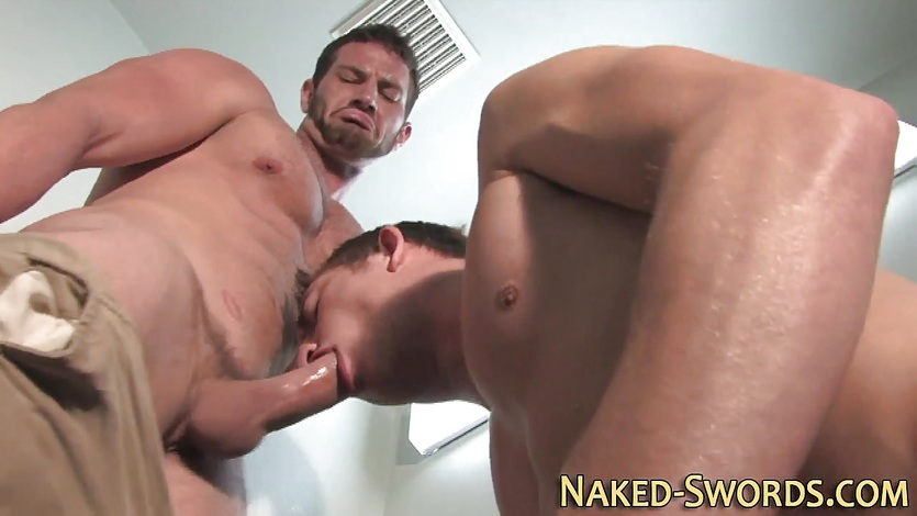 Gay jock gets ass fucked