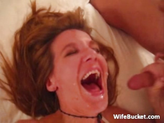 amateur mom facial compilation