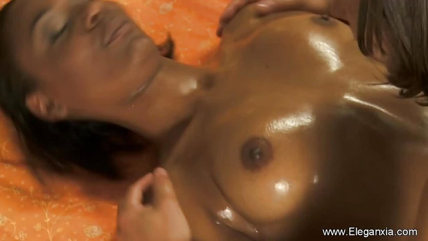 Beautiful Indian MILF Massaged