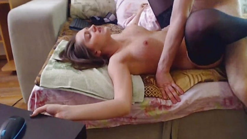 Hard Fucking Of Hot Couple With Cumshot