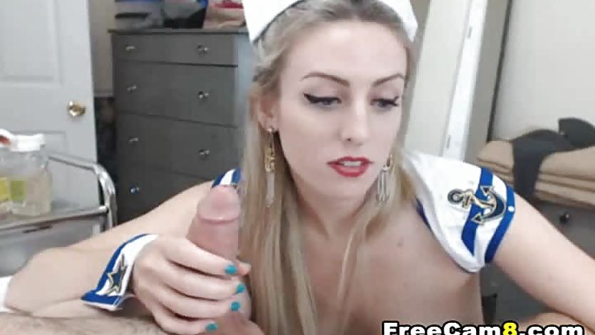 Horny Irish Sailor Chick Deep Throat
