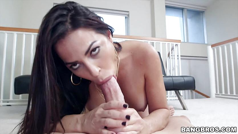 Julianna Vega feasting on a big dick