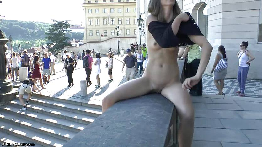 Susan Naked on Public Streets