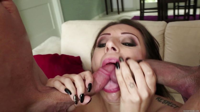 Tori Avano double penetration and facial