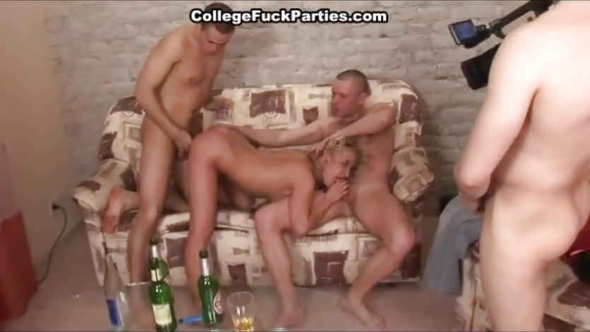 All kinds of the hot college fucking for seducing blond