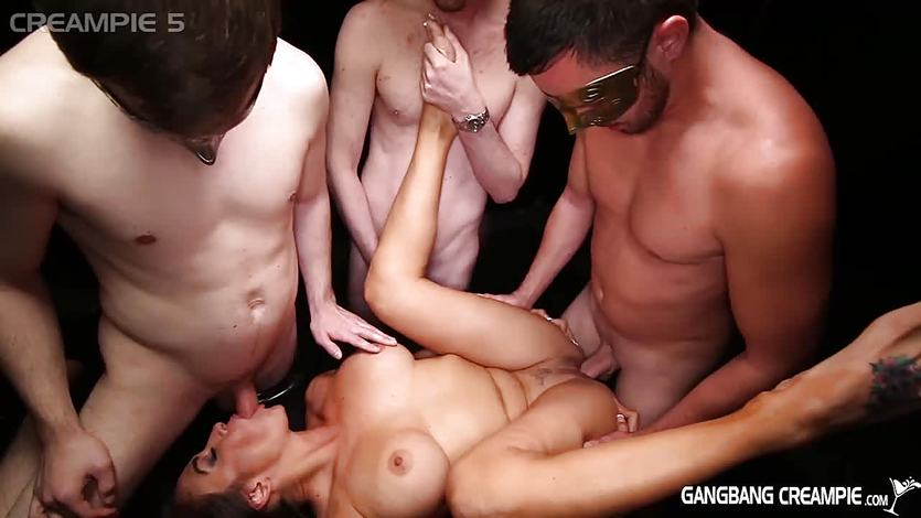 Gangbang Creampie Claudia Valentine GNGBNG