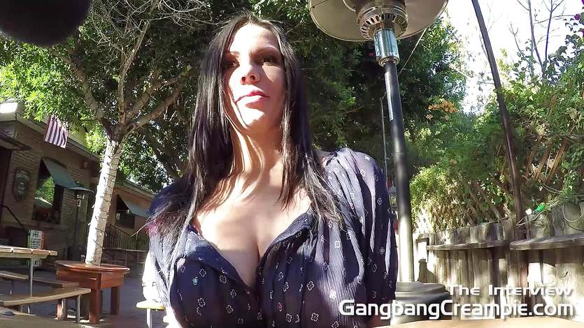 Gangbang Creampie Interview with Lylith Lavey