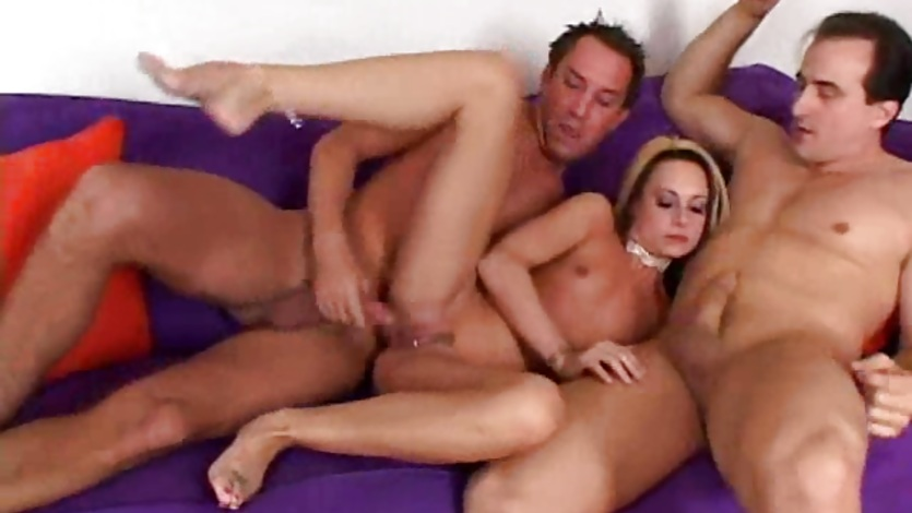Horny Nikkin Hilton blowing a cock while getting her twat screwed