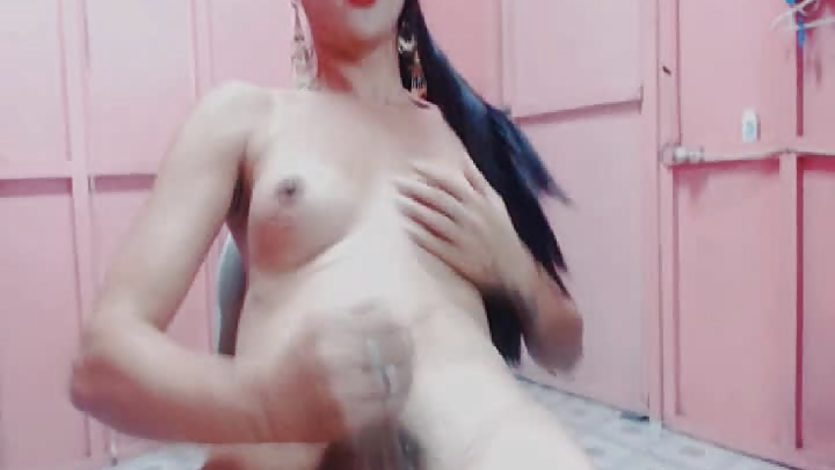 Hot Shemale Live Cam Masturbation