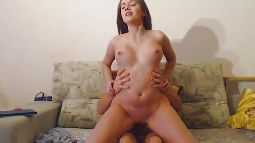 Naughty Couple Hard Fucking With Cumshot