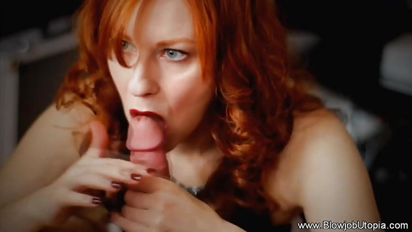 Soft and Erotic Blowjob Redhead