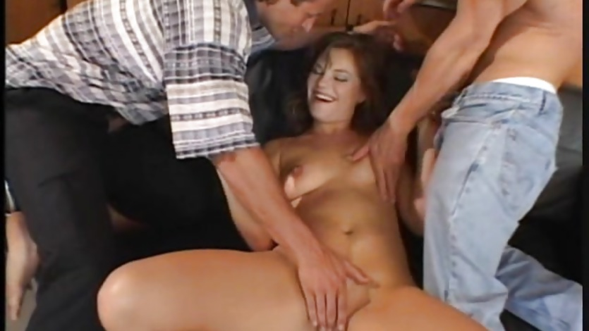 Tempting Luci Love gets her mouth crammed with cock