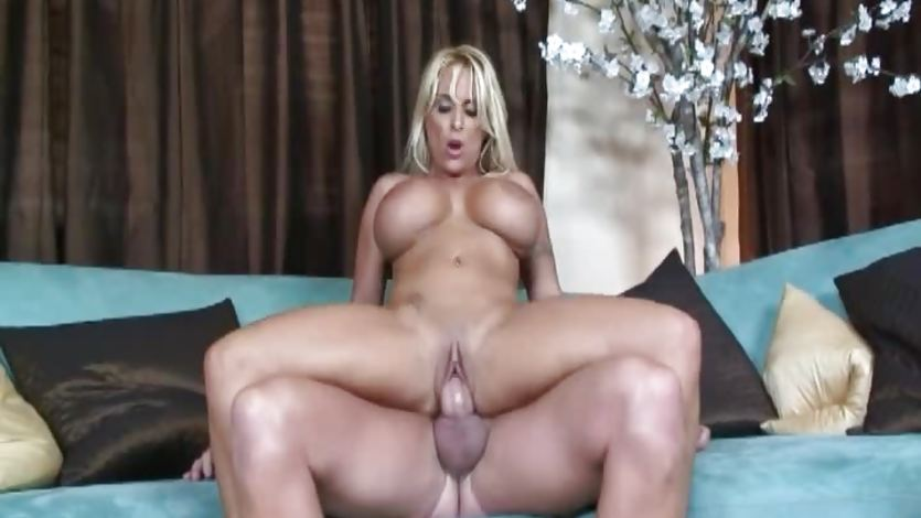 This big titted babe gets fucked really hard