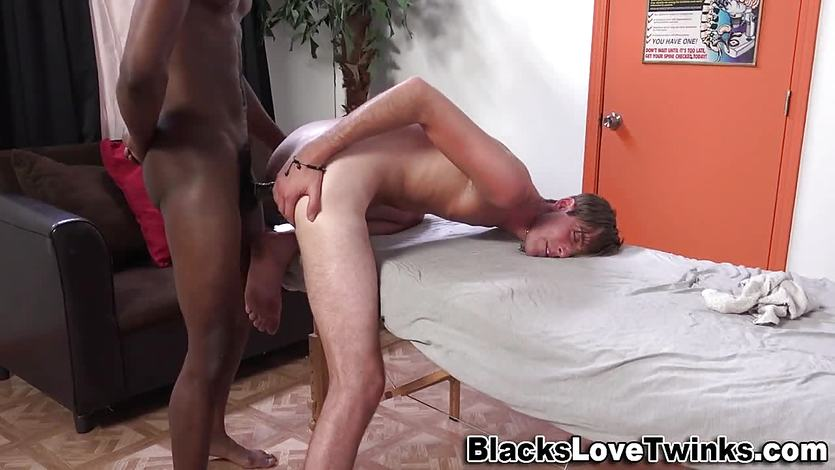 Twink gets cum and fucked