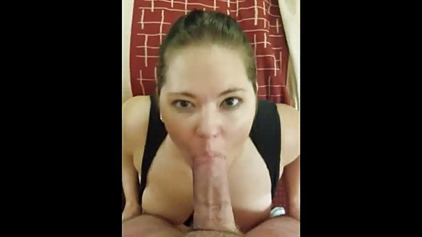Vacation blowjob and facial in the morning