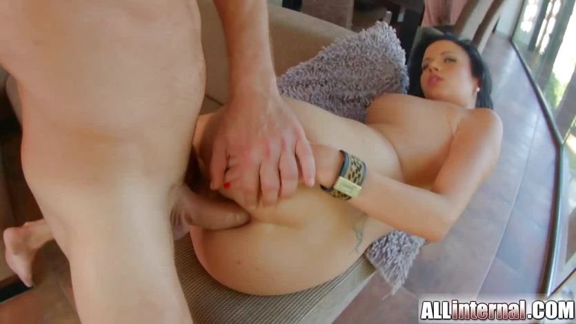 All Internal Brazilian gets anal creampie