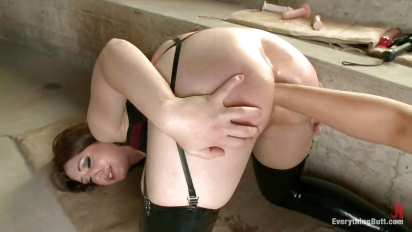 Anal fisting with naughty bitch Sarah Shevon