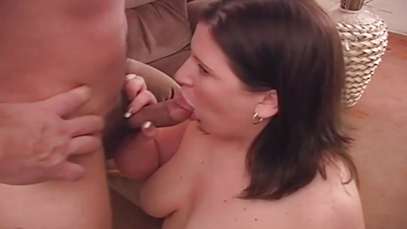 BBW Blowjob Babe Sucks It Dry