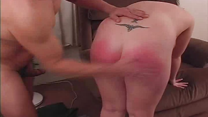 BBW Spanking And Blowjob