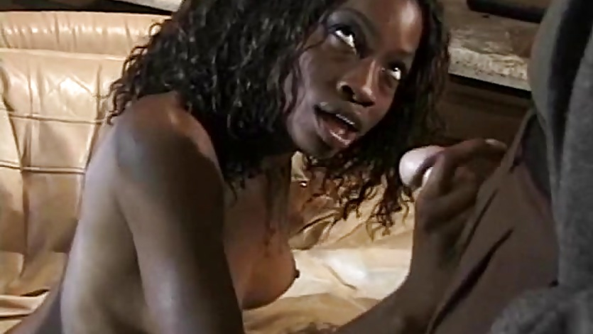 Black Ebony Handjob For White Guy And Creamy Cumshot