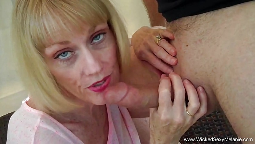 Cuckold Husband Begs For Blowjob