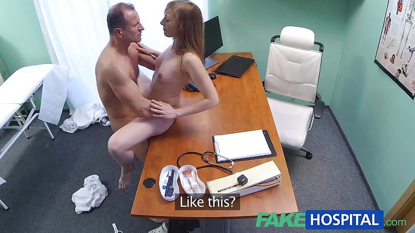 FakeHospital Doctor creampies sexy tight pussy