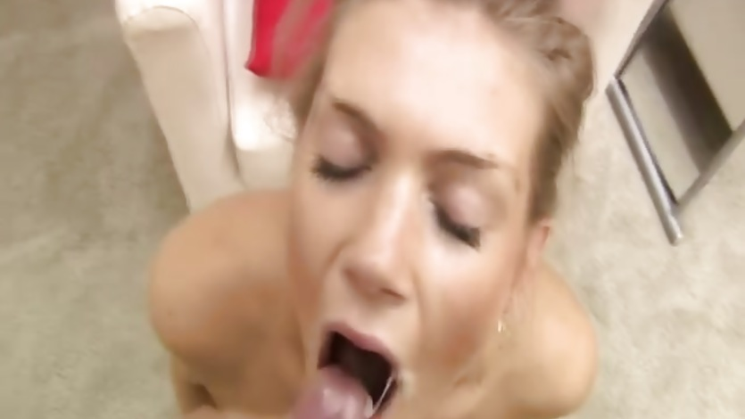 Teen love mouth of cum