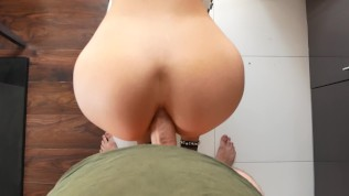 Hot stepsister first ANAL – DEEP BIG COCK INSIDE ASS