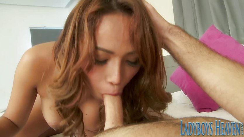 Awesome Asian Shemale Pinky