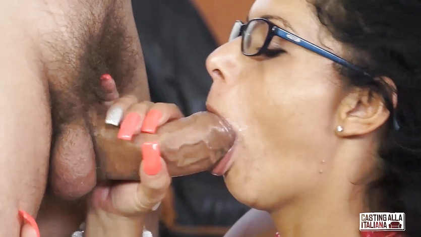 CASTING ALLA ITALIANA – Squirting Romanian gets anal